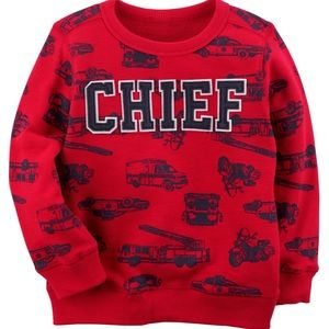 ✨3 for $30✨2T Boys Red Graphic Sweatshirt